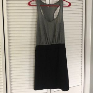 Black and Grey Guess Body-con  dress